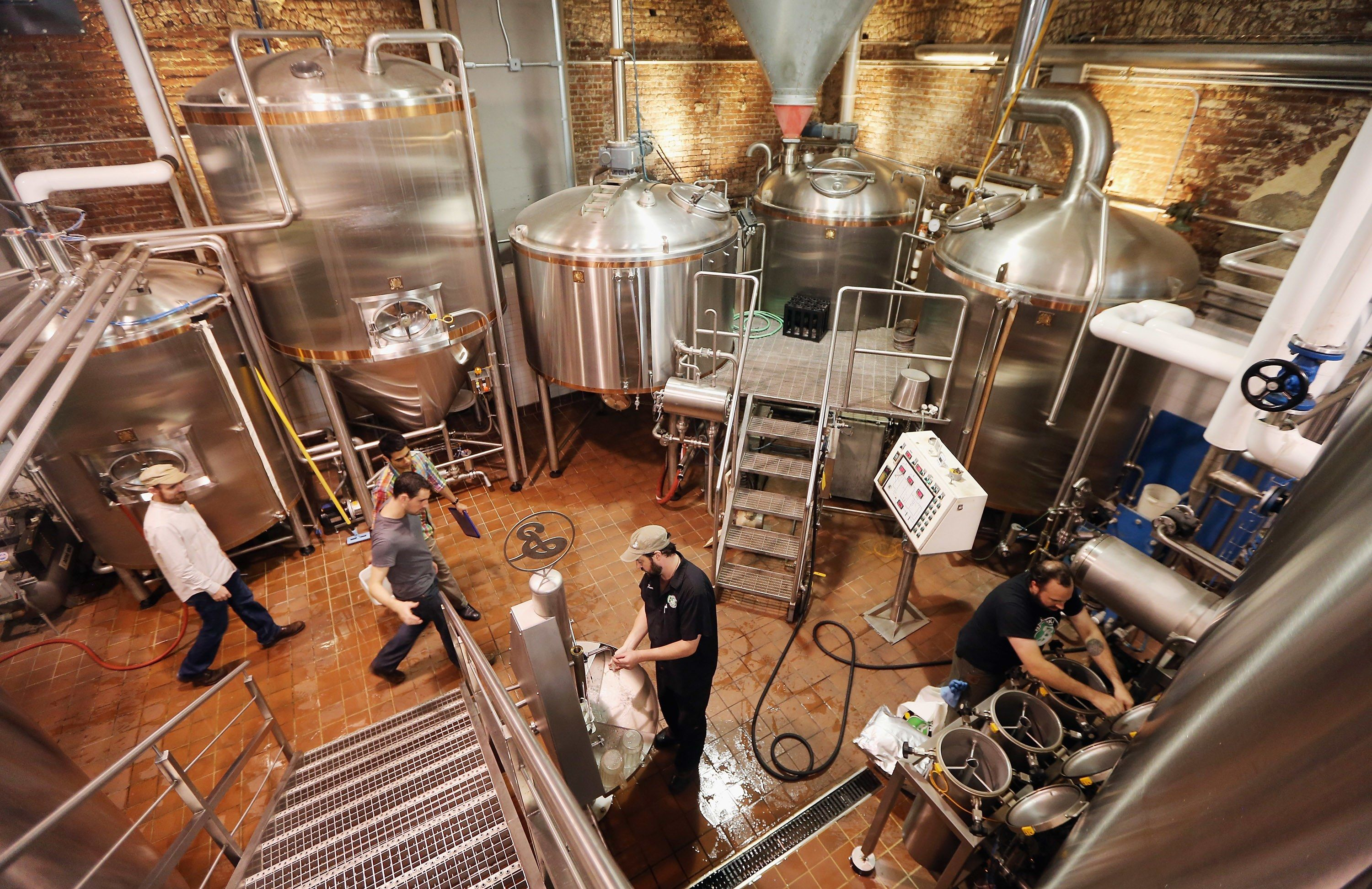 17 Stylish Craft Distilleries and Breweries Across the Country Photos | Architectural Digest