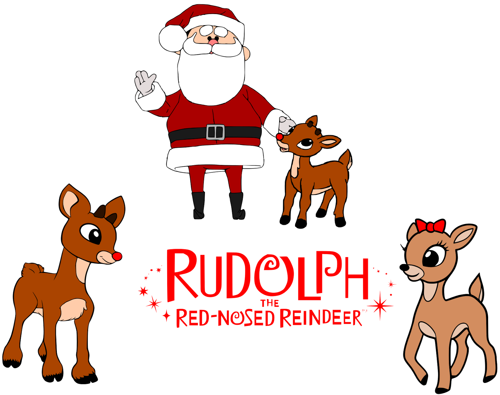 21+ Rudolph the red nosed reindeer clipart png info