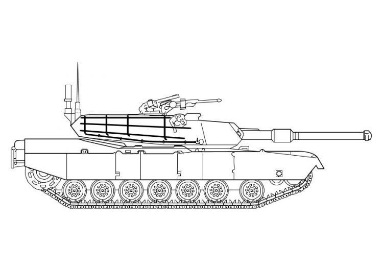 Army Truck Coloring Pages Printable Tank Army Coloring Pages