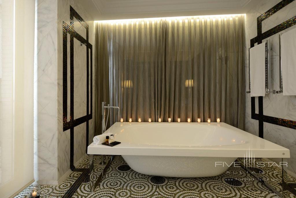 Grand Suite Bath At The Hotel Unico In Madrid Spain Luxury Hotel Bathroom Living Design Baby Room Decor