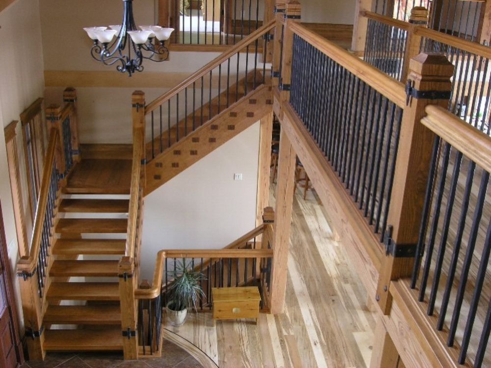 Image Result For Stairs Rustic Stairs Rustic Staircase Modern Farmhouse Interiors
