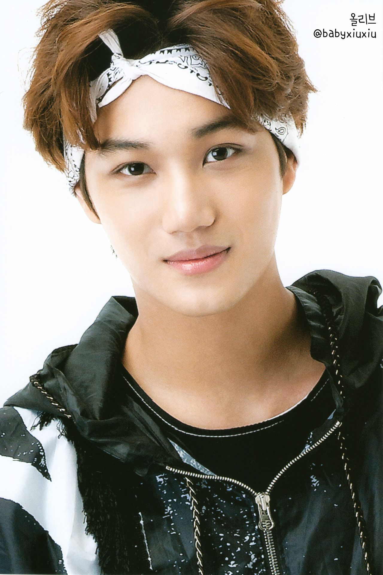 Kai Of Exo Looking Very At Ease And Handsome Here