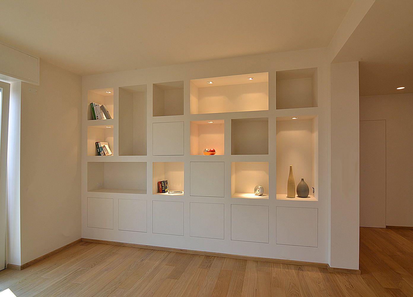 02 sala bianchibosoni hogar almacenamiento en el for Pareti sala in cartongesso
