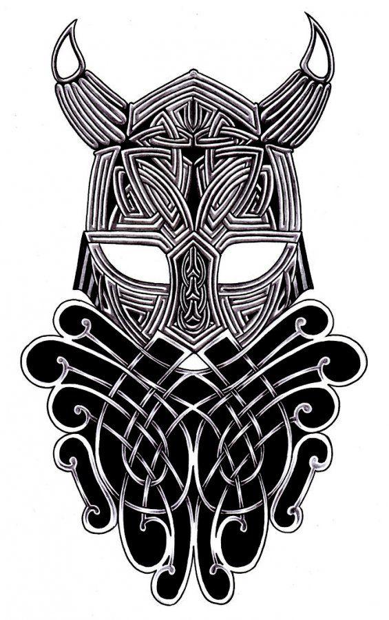 Tribal viking warrior - I like the idea but not so hot on ...  Tribal viking w...