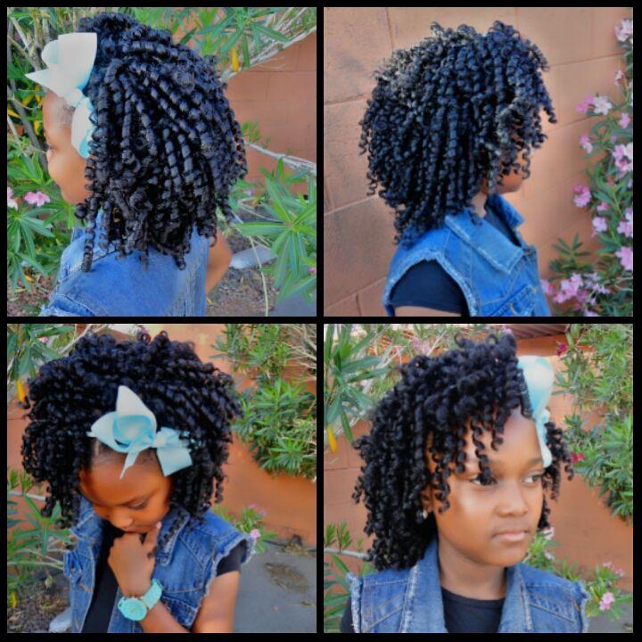 Super 1000 Images About Kids Crochet Braids Amp More On Pinterest Short Hairstyles For Black Women Fulllsitofus
