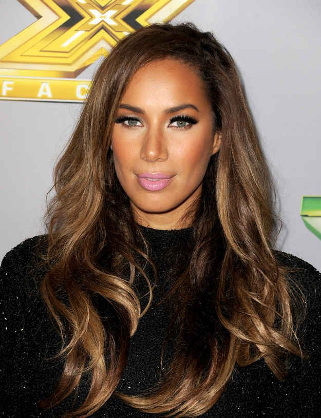 24 Celebrities Who Have Perfected The Ombre Hair Color Leona Lewis