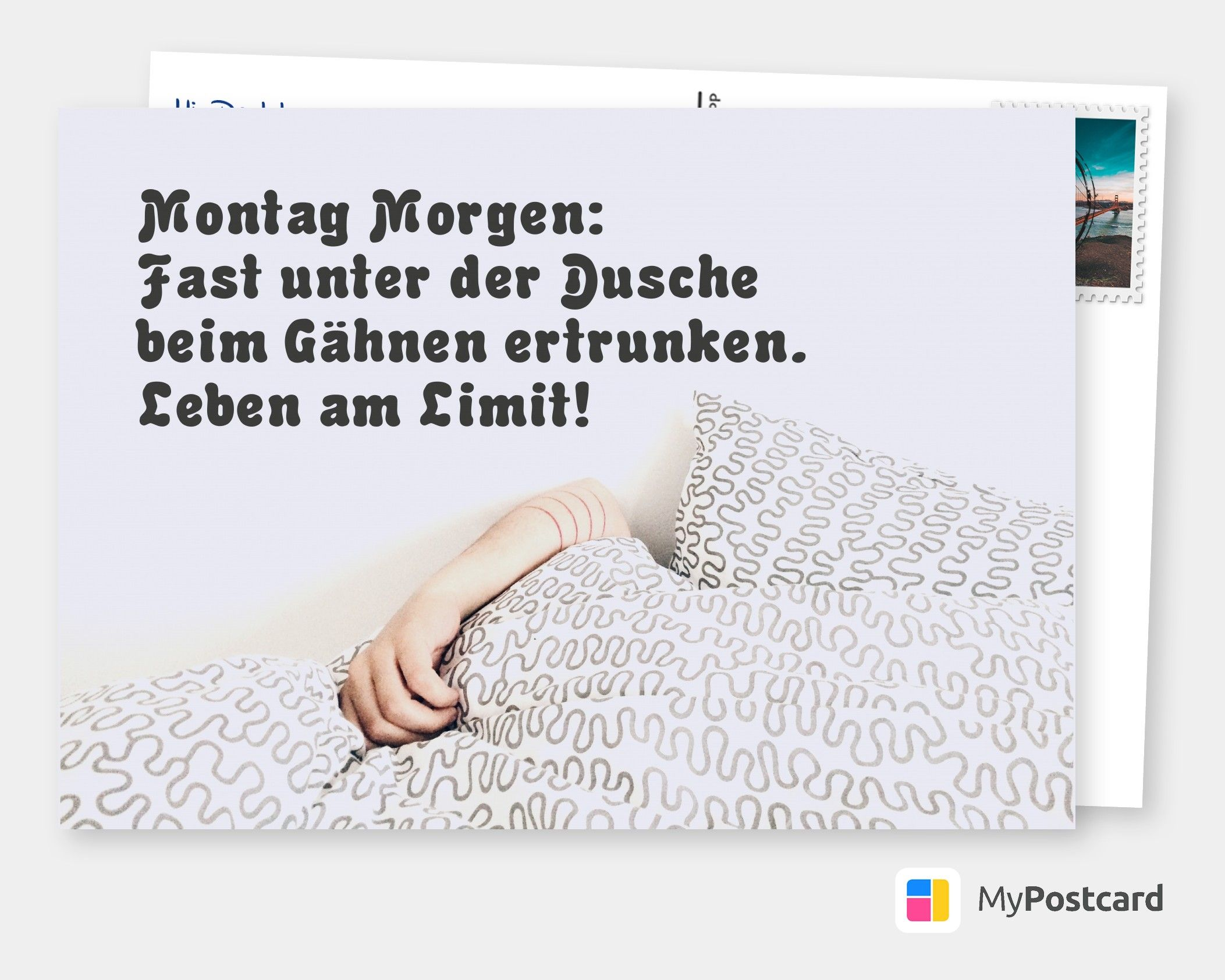 Gru/ßkarte Again
