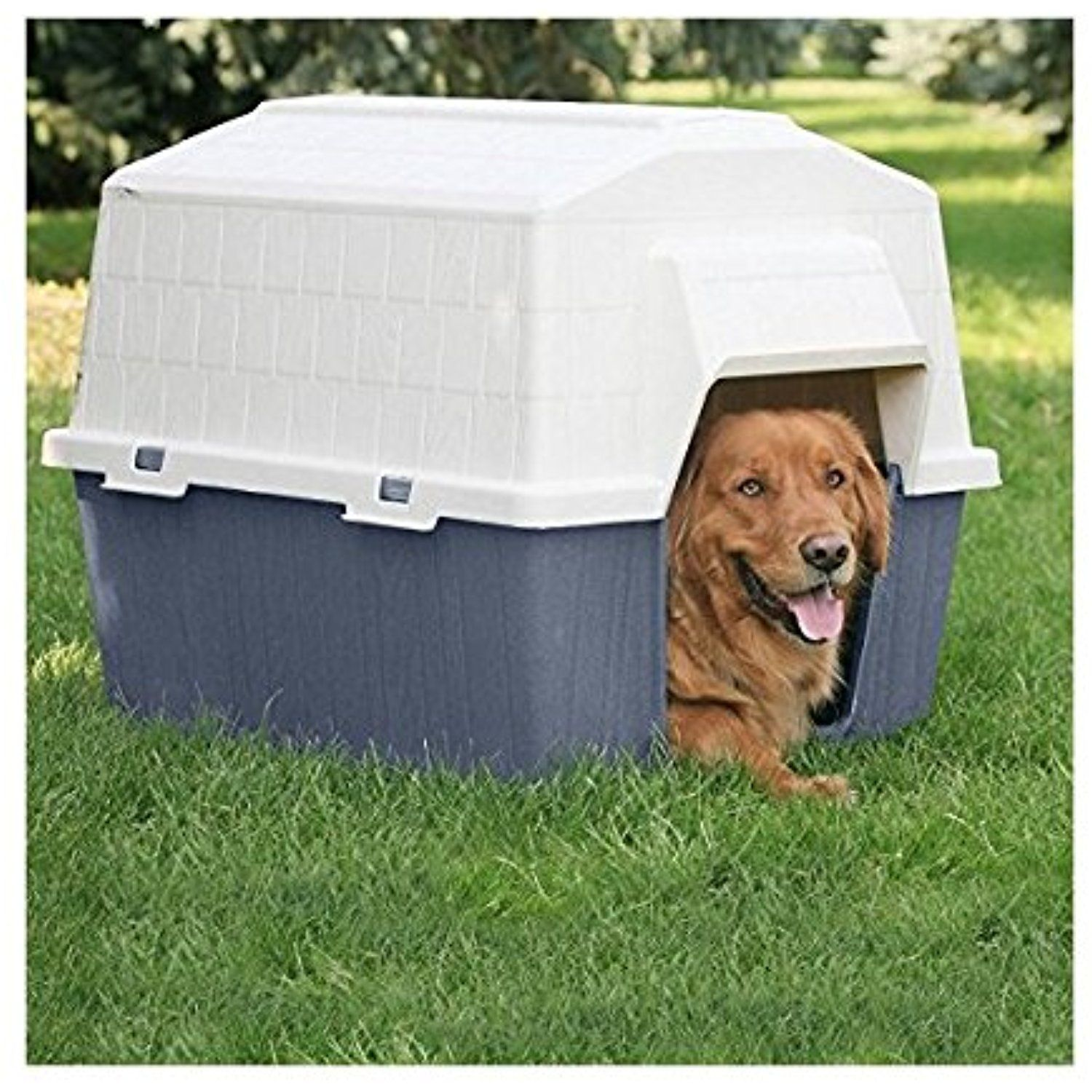 Petmate Barn Home Dog House *** For more information ...
