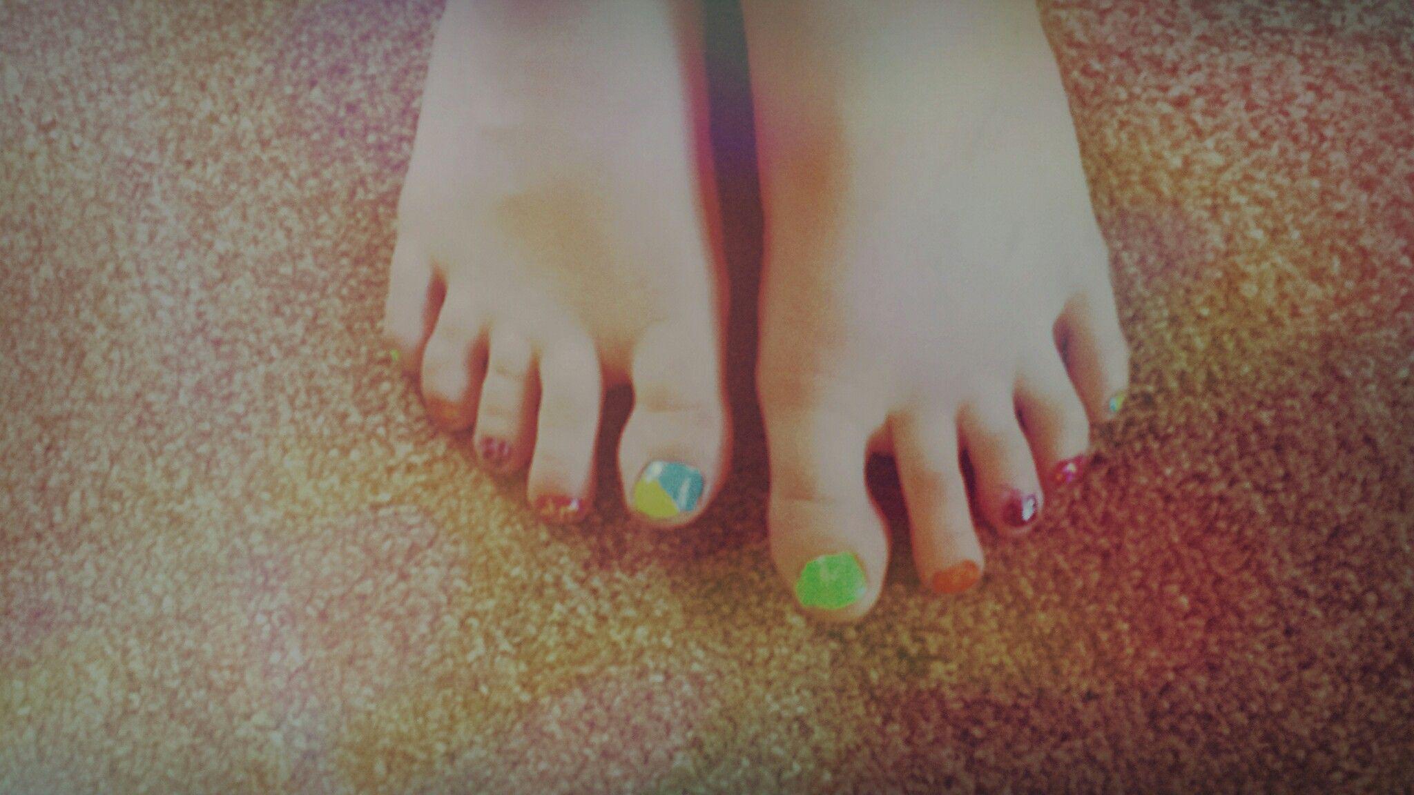 My summer nails!!!