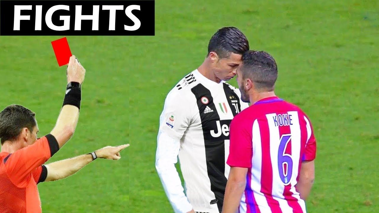 Cristiano Ronaldo Fights, Red Cards and Epic Moments in