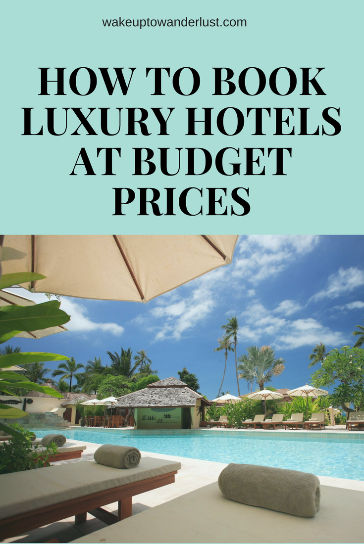 Book luxury hotels without having to worry about the luxury price!