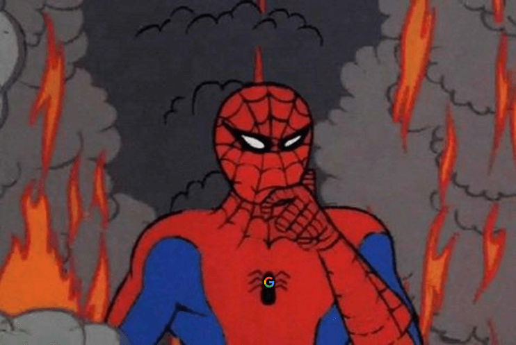 2019 In Search Find Your Seamlessness Spiderman Meme Spiderman Spiderman Cartoon