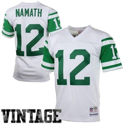 online store 34c48 acffe Joe Namath New York Jets Mitchell & Ness 1968 Retired Player ...