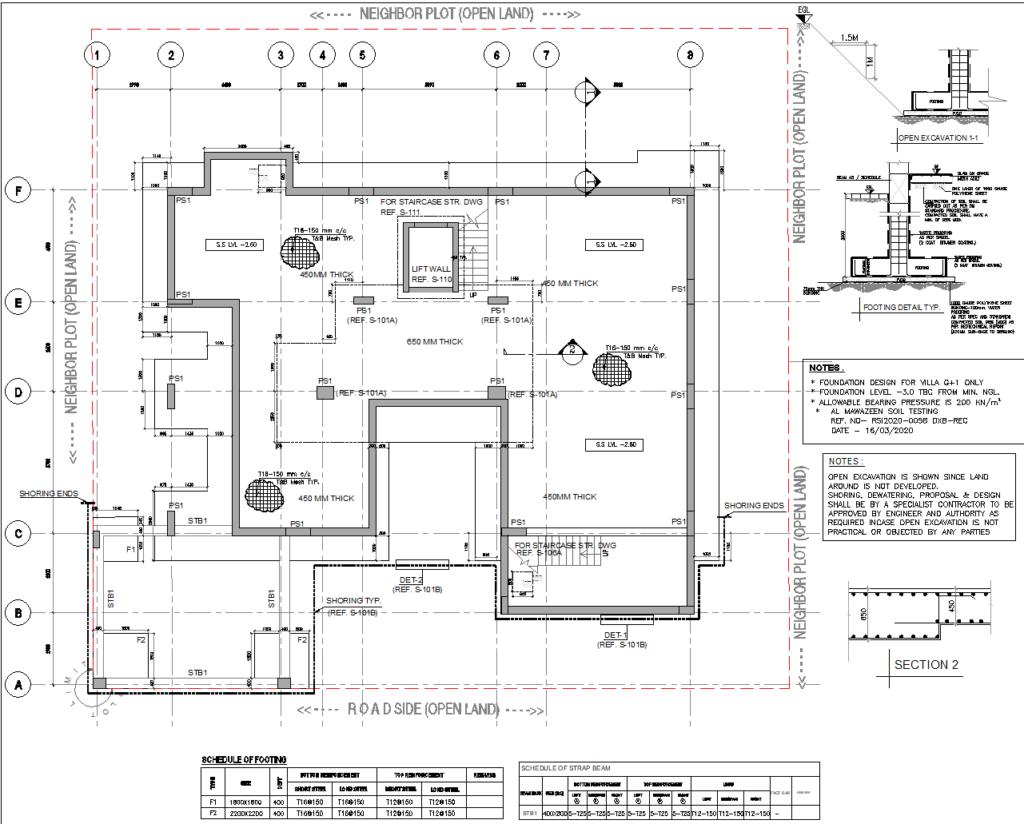 G 1 Villa Basement Recreational Area With Plan Details Engineering Discoveries Modern Villa Design Villa My House Plans