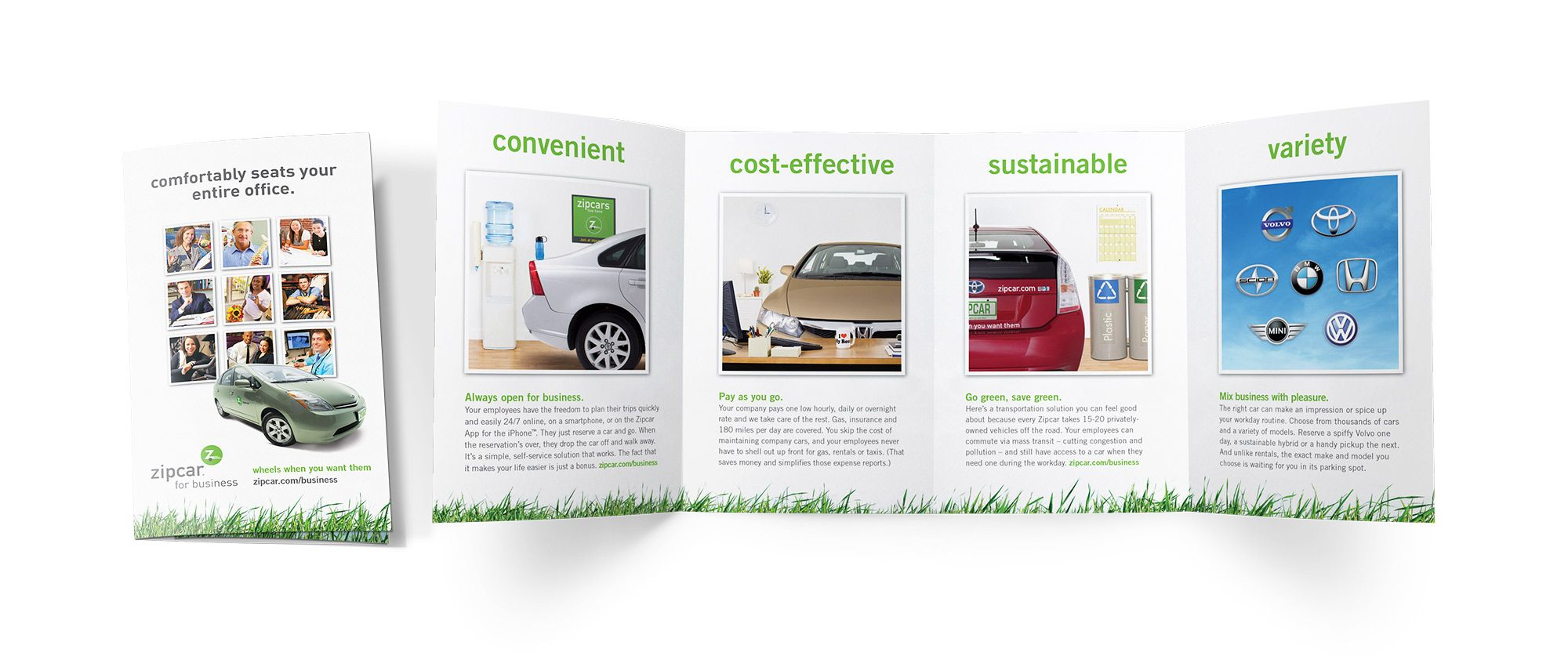 Zipcar For Business Graphic Design By Katie Bielawski Fantabulous Design Com Fantabulous Graphic Design Creative