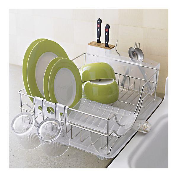 Best Simplehuman® System Dish Rack Dish Racks Kitchen 640 x 480