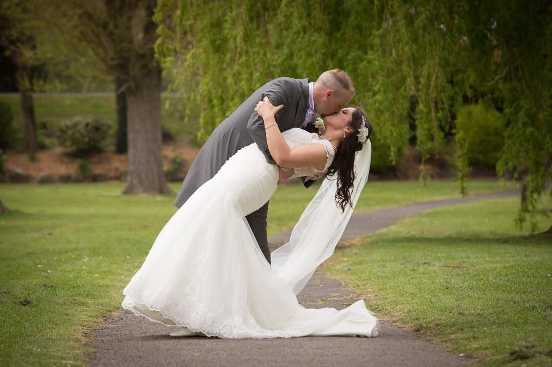You may now kiss your Bride. . . . #kissing #weddingday ...
