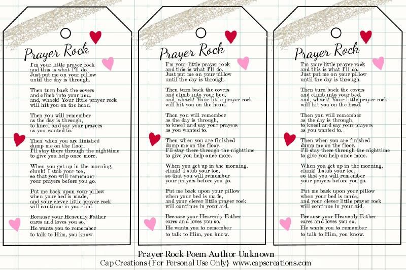 Luscious image intended for prayer rock printable