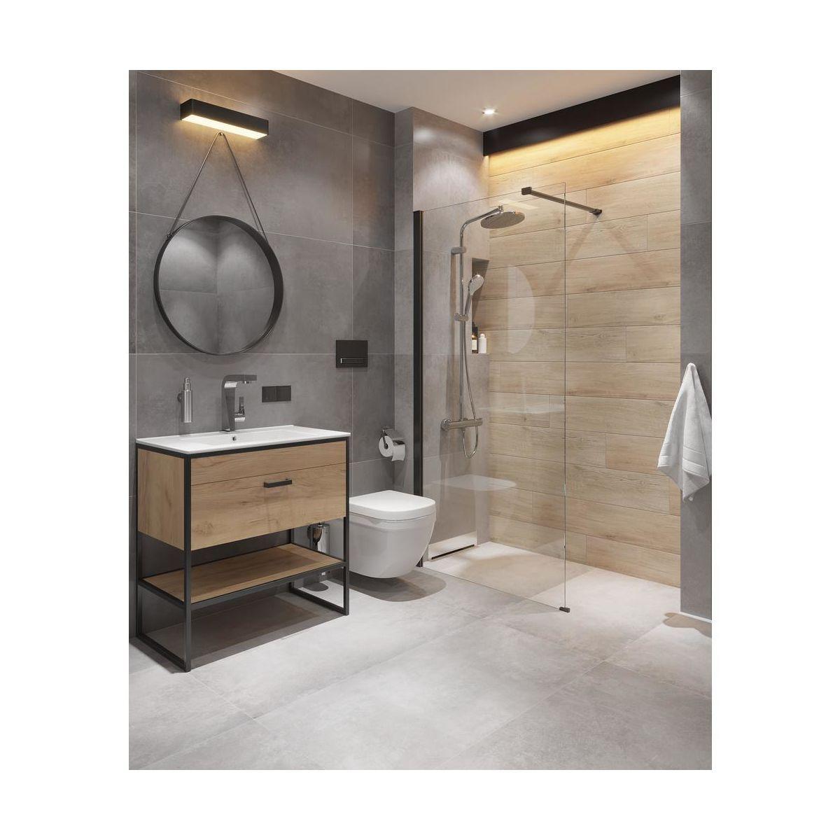 Szafka Pod Umywalke Brooklyn 80 Comad Szafki Pod Umywalki W Atrakcyjnej Cenie W Sklepach Leroy Merlin Small Bathroom Round Mirror Bathroom Bathroom Mirror