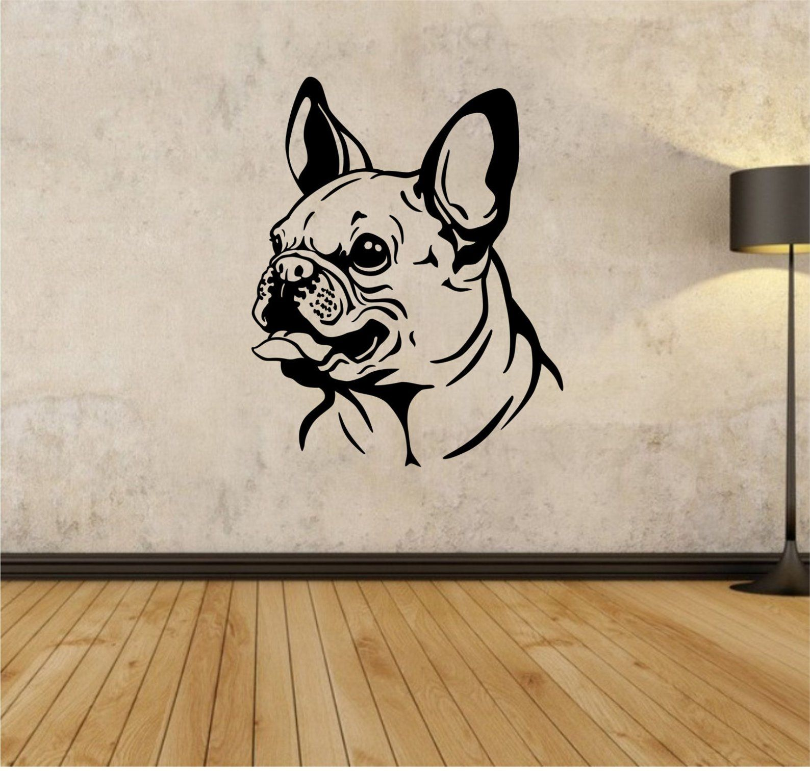 French Bulldog Wall Decal Sticker Art Decor Bedroom Design