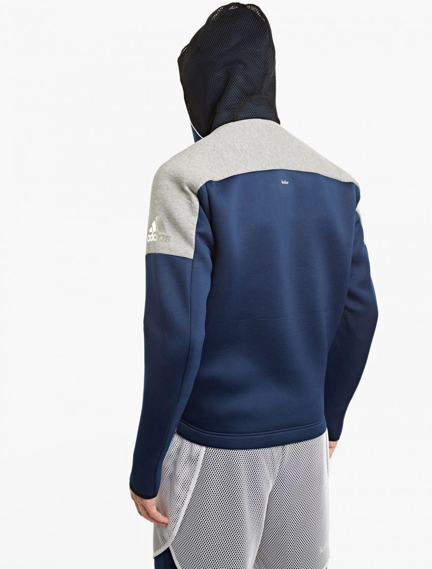 Las adidas by con kolor Chaqueta adidas con capucha para SS17, aquí visto aquí en azul marino fb485d4 - rspr.host