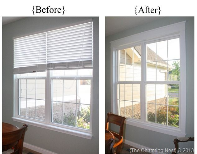 so want to do this!  Add trim to builder grade windows.  Love how they did theirs.