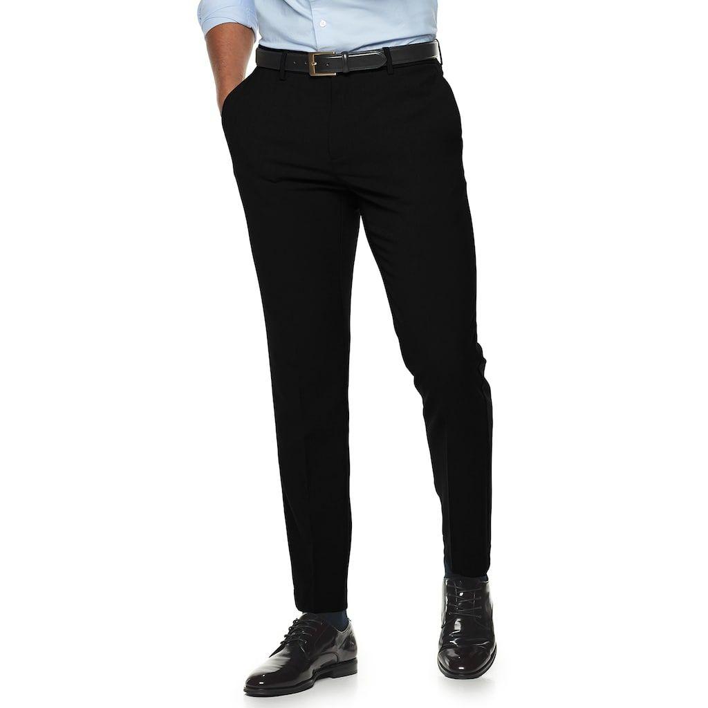 Men S Apt 9 Extra Slim No Iron Dress Pants Slim Fit Dress Pants Black Dress Pants Men Slim Dress Pants [ 1024 x 1024 Pixel ]