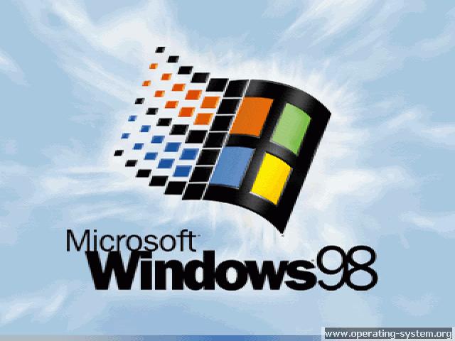 Windows 98 Operating System Microsoft Windows Windows 98 Microsoft