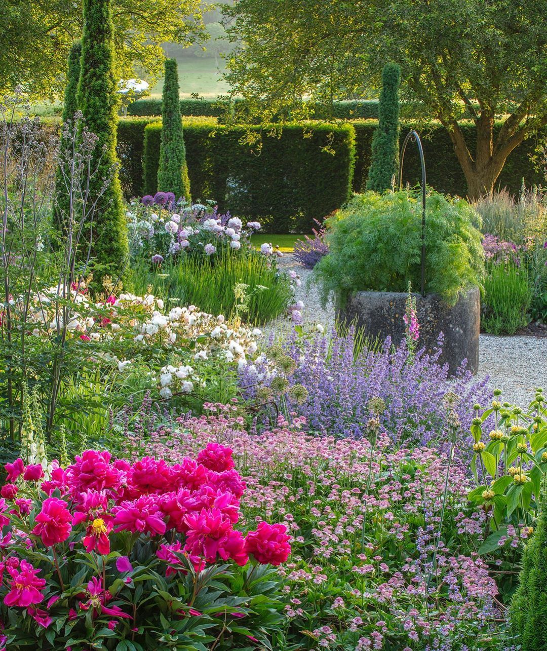 The Stunning Opera Garden Designed By Hannah Gardner At Wormsley In Buckinghamshire Thanks To Theenglishgardenmaga Garden Design Garden Visits English Garden
