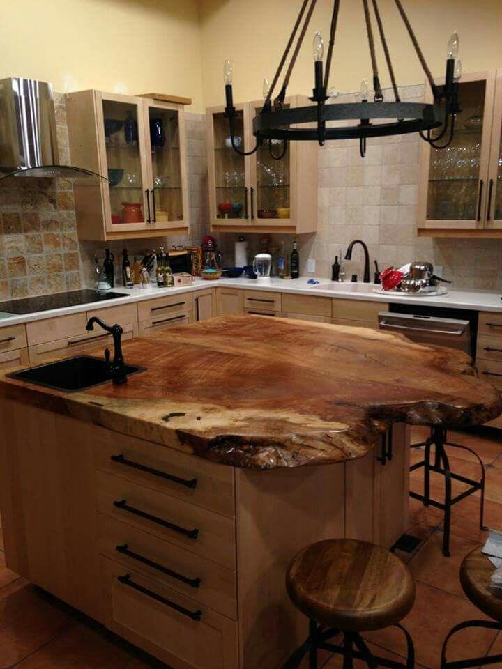 Maple Island Custom Kitchen Island Kitchen Island Tops Outdoor Kitchen Countertops