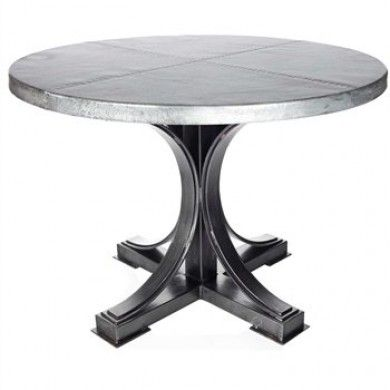 Winston Dining Table With Round Top Multiple Sizes Materials By Prima Designss 2m5 F 527a 2m5 F 528a 2m5 F 529a Dining Table Dining Table Price Zinc Table