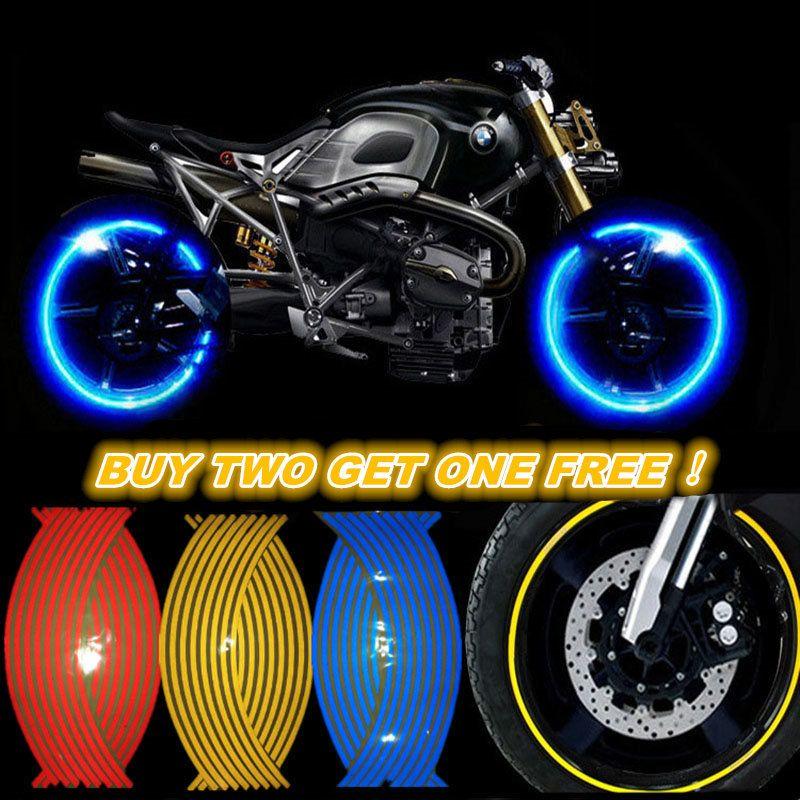 Kaufen Zwei Get One Free! Motorrad Styling Radnabe Reifen