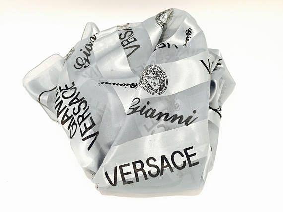 a24080e27c Versace Scarf - Gianni Versace Wrap - Womens Scarves - Scarf Women -  Designer Scarf Designer Scarves