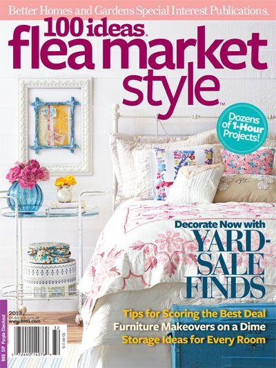 4a873e00e8f916029652a3f98fdd4f27 - Better Homes And Gardens Flea Market Style Magazine