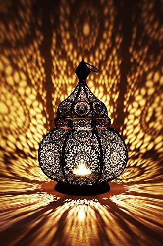 Orientalische Laterne Aus Metall Ziva Schwarz 30cm Orientalisches Marokkanisches Windlicht Gartenwindlicht Marokkanische Metalllaterne Fur Draussen Als Garte Orientalische Laterne Metall Laterne Laterne Garten