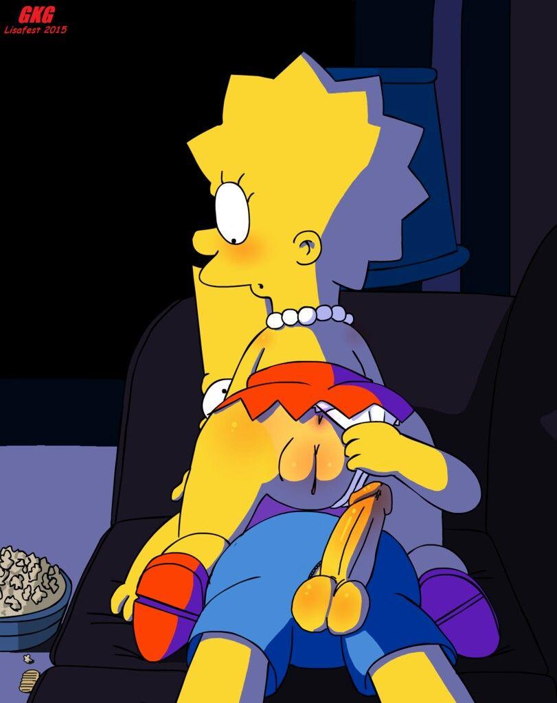 Simpson hentai lisa Bart