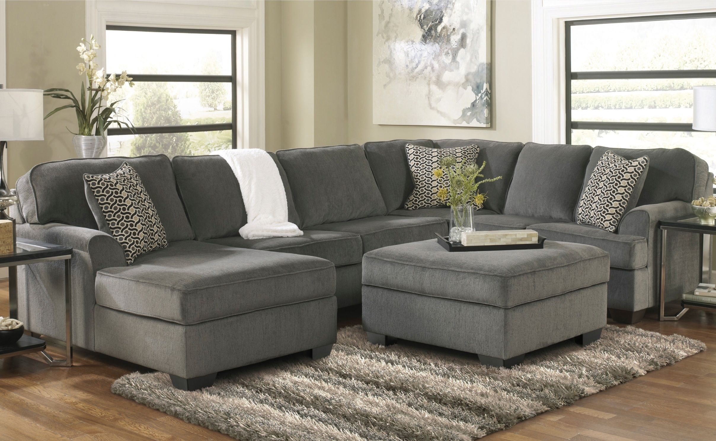 American Furniture Warehouse Couches Grey Couch Living Room