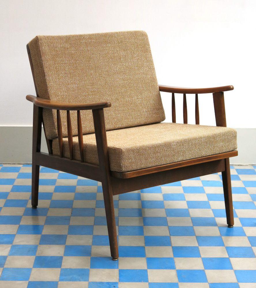 fauteuil scandinave vintage en teck annes 60 wwwbaosfr concept - Fauteuil Scandinave Vintage