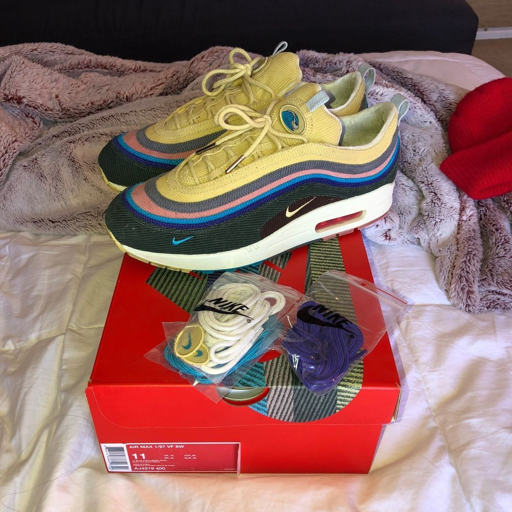 Nike Air Max 1 97 Vf Sw Sean Wotherspoon Size 11 Fashion