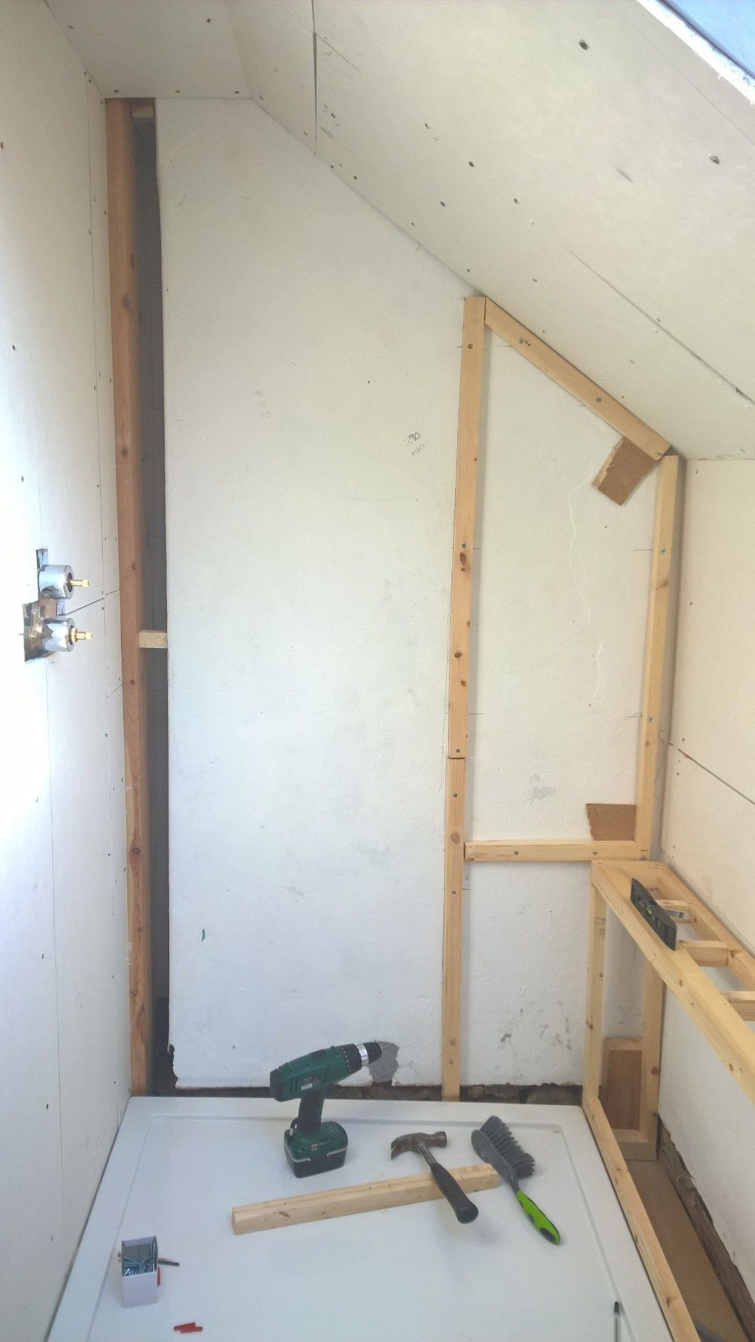 64.) So this is why my walls / tile backer board / drilling anything ...