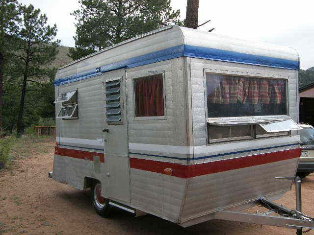 1968 Rolite 12 Foot Unique Vintage Travel Trailer Camper Tin Can