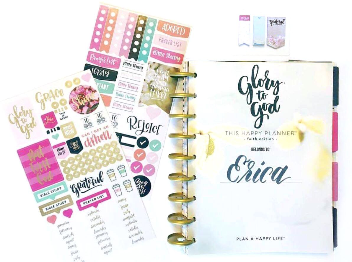 Using the faith based happy planner for work