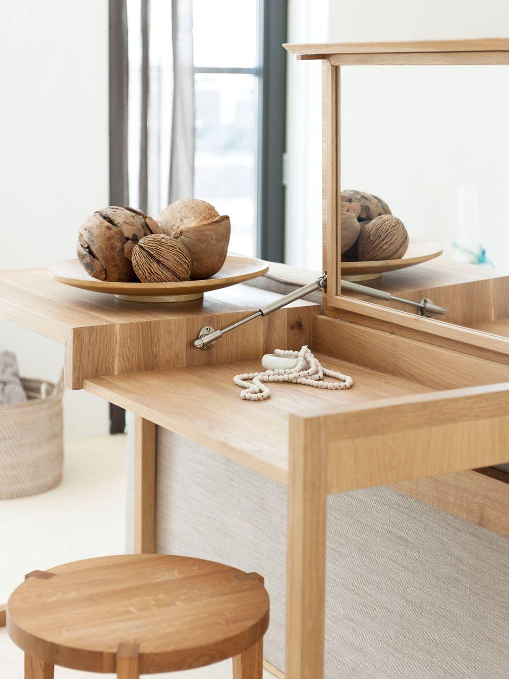 Houten makeup tafel dresser pinterest dresser storage and