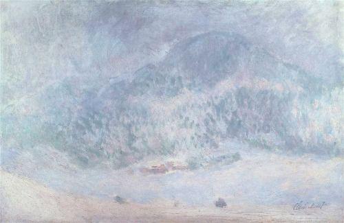 Mont Kolsaas, SnowstormClaude Monet, 1895