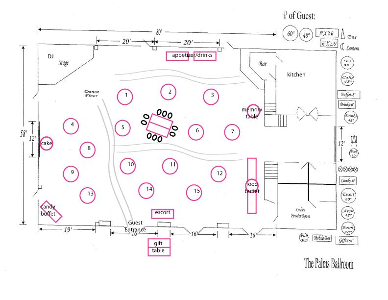 Reception Floor Plan Weddings Pinterest Reception Wedding