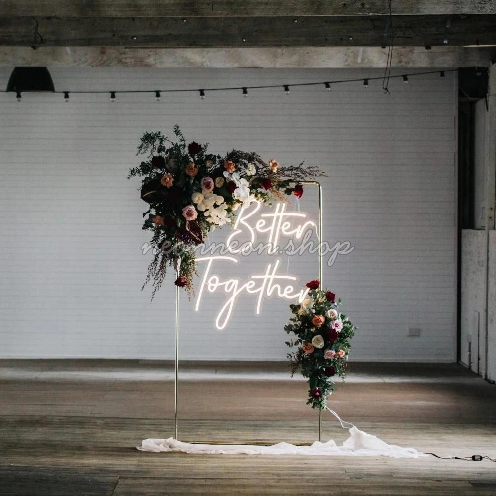 Better Together LED in 2020 Wedding decorations