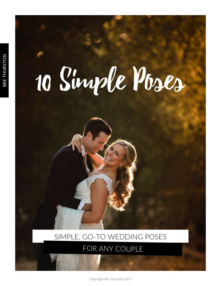 Free Pdf 10 Simple Wedding Pose Ideas