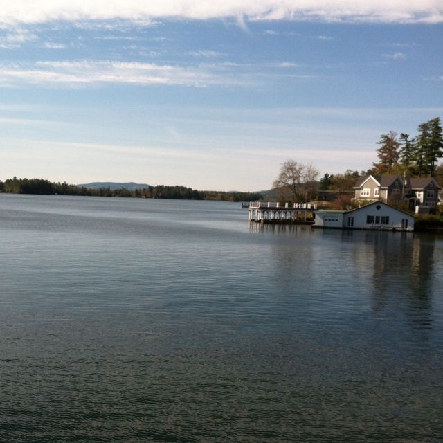 View from are room at The Boathouse B (Bolton Landing NY)