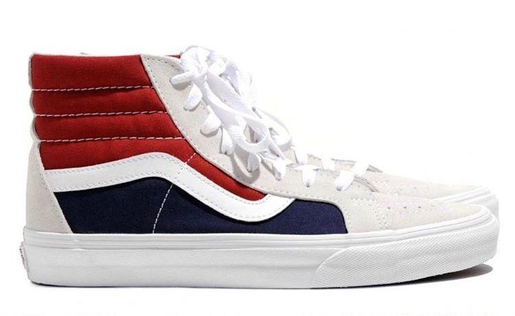 Vans Sk8 Hi Reissue Retro Block Vans Vans Sk8 Vans High Top Sneaker