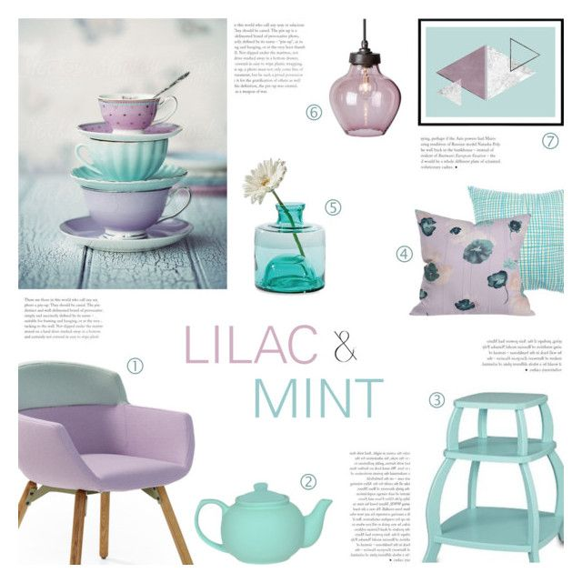 Lilac And Mint By C Silla Liked On
